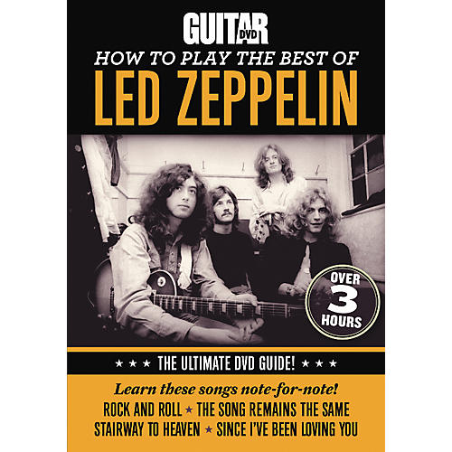 Alfred Guitar World How To Play The Best Of Led Zeppelin DVD thumbnail