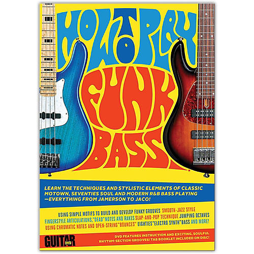 Alfred Guitar World: How to Play Funk Bass DVD thumbnail