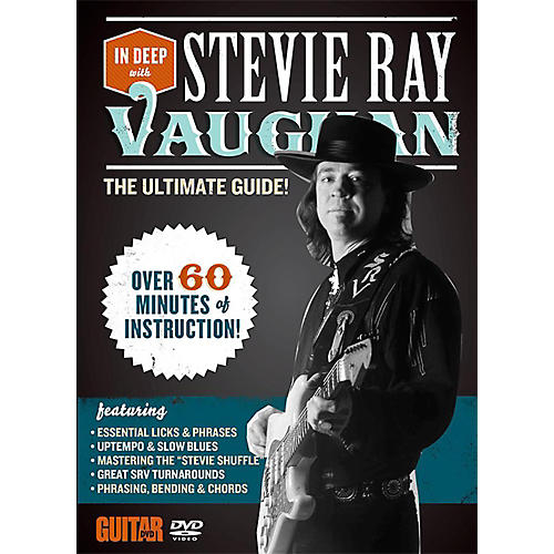 Alfred Guitar World In Deep with Stevie Ray Vaughan DVD thumbnail