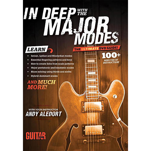 Alfred Guitar World In Deep with the Major Modes DVD thumbnail