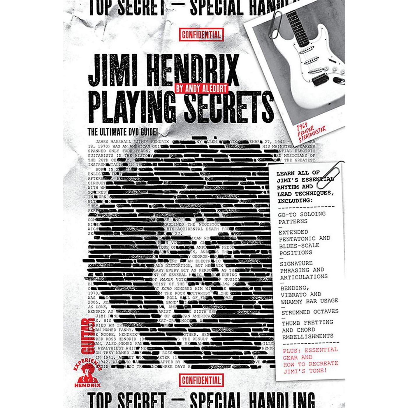 Guitar World Guitar World: Jimi Hendrix Playing Secrets Intermediate DVD thumbnail