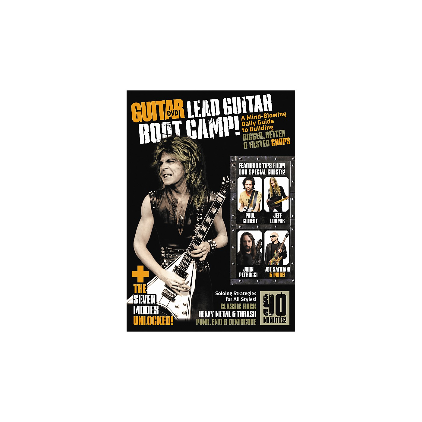 Alfred Guitar World Lead Guitar Boot Camp DVD thumbnail