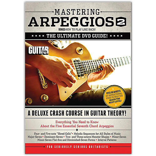 Alfred Guitar World Mastering Arpeggios Deluxe:  A Crash Course in Guitar Theory DVD 2 thumbnail