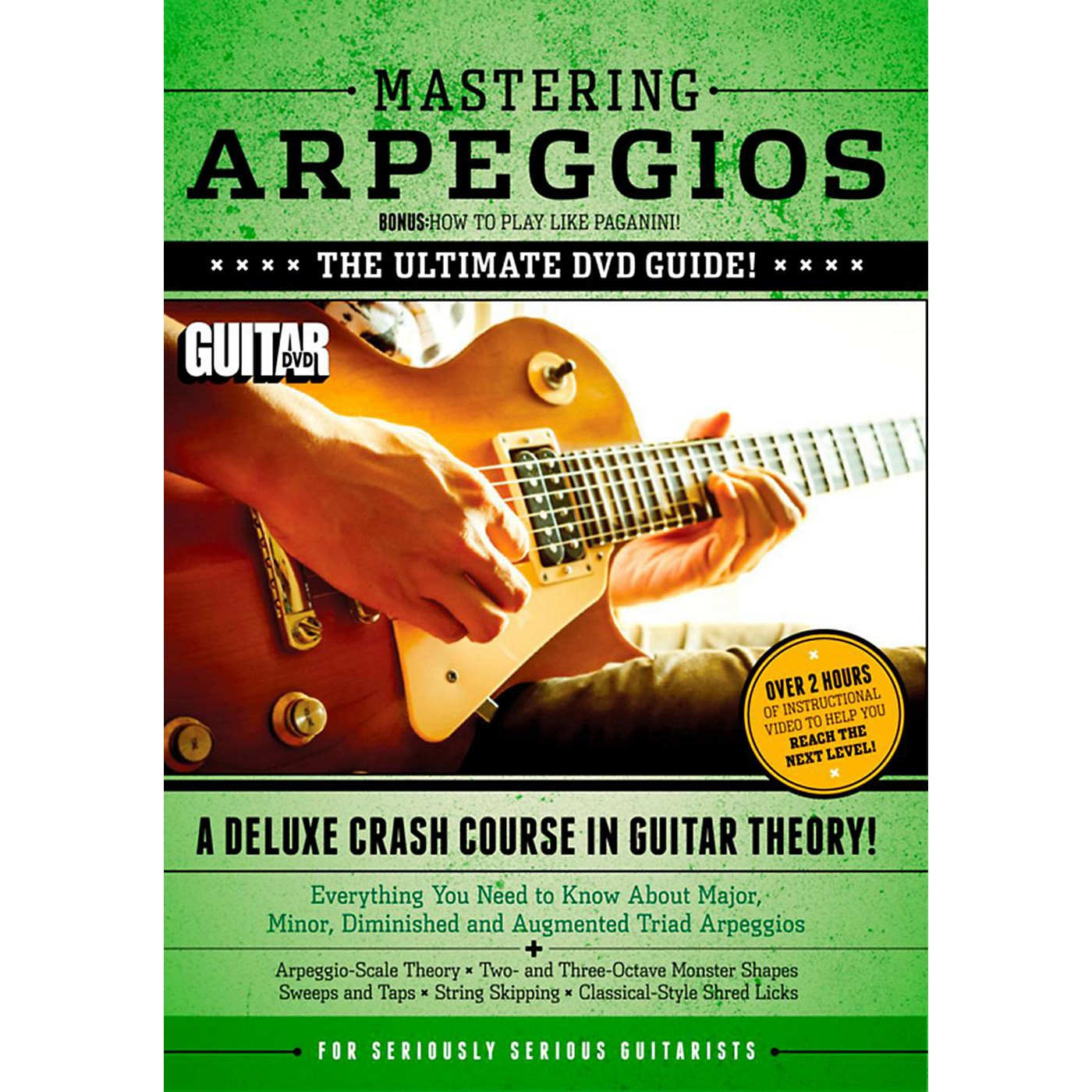 Alfred Guitar World Mastering Arpeggios Deluxe:  A Crash Course in Guitar Theory DVD thumbnail