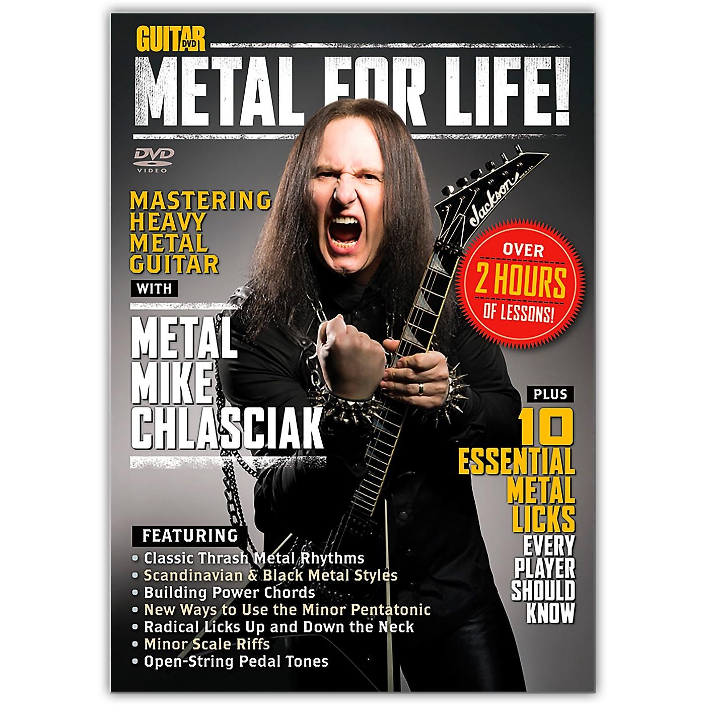 Alfred Guitar World Metal for Life! DVD thumbnail
