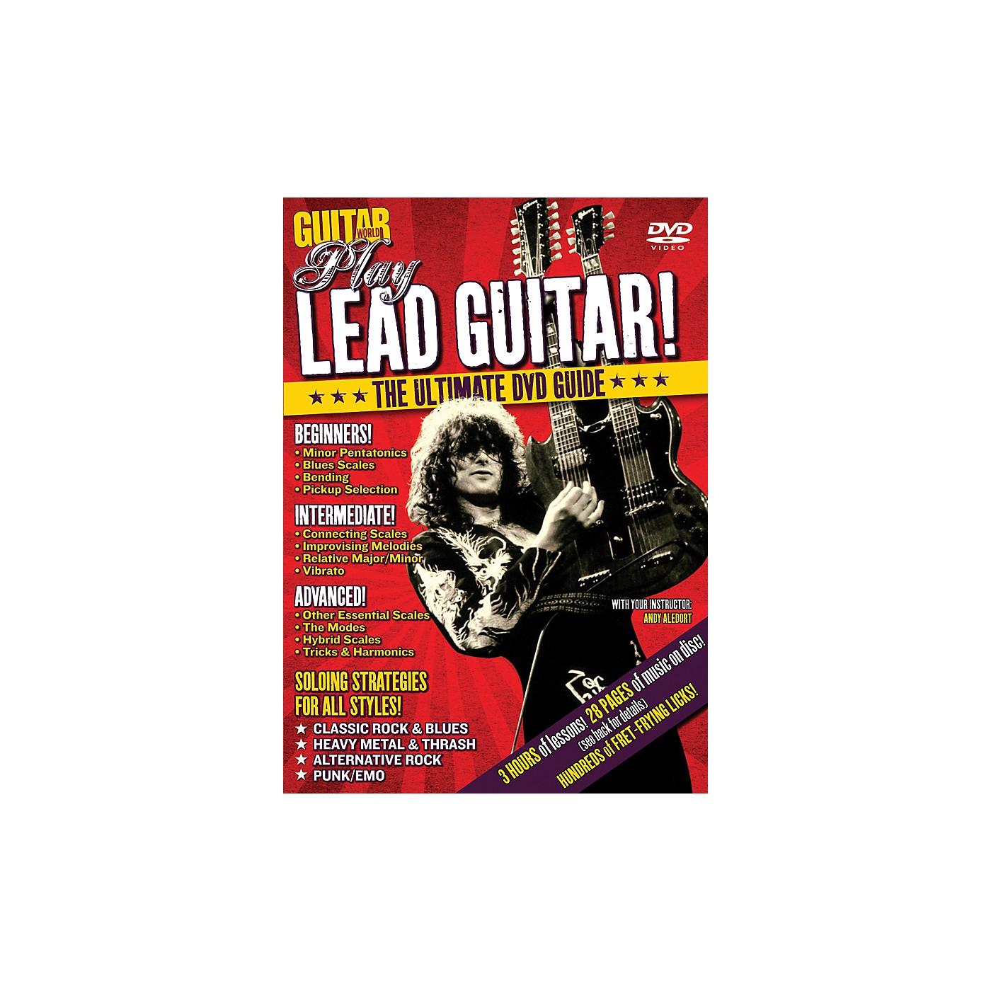 Alfred Guitar World Play Lead Guitar DVD thumbnail