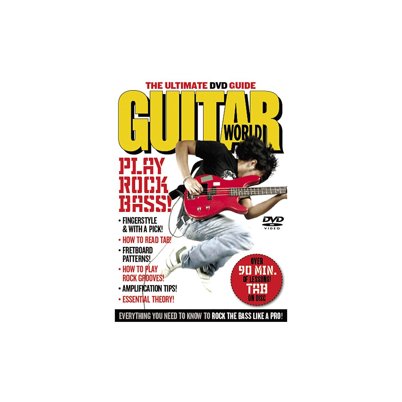Alfred Guitar World: Play Rock Bass (DVD) thumbnail