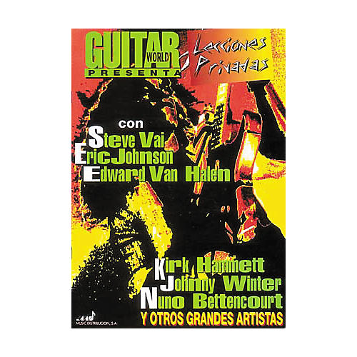 Hal Leonard Guitar World Presents Private Lessons Guitar Tab Spanish (Book)-thumbnail