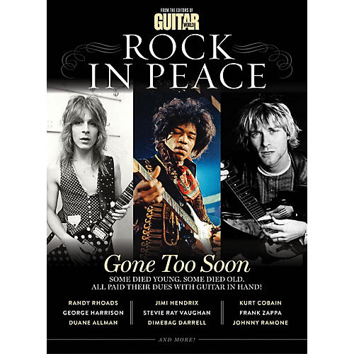 Time Home Entertainment Guitar World Presents: Rock in Peace Book Series Softcover thumbnail