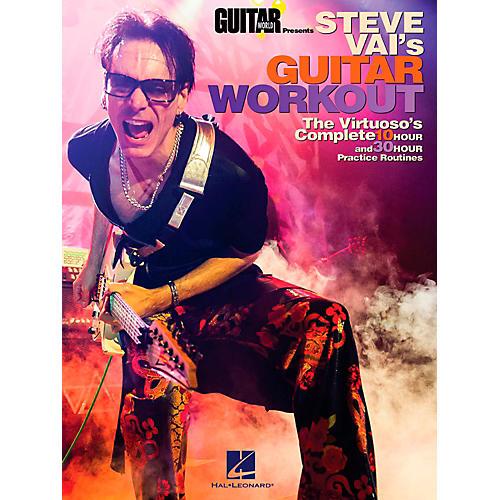 Hal Leonard Guitar World Presents Steve Vai's Guitar Workout-thumbnail