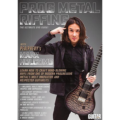 Guitar World Guitar World: Prog Metal Riffing DVD Intermediate thumbnail