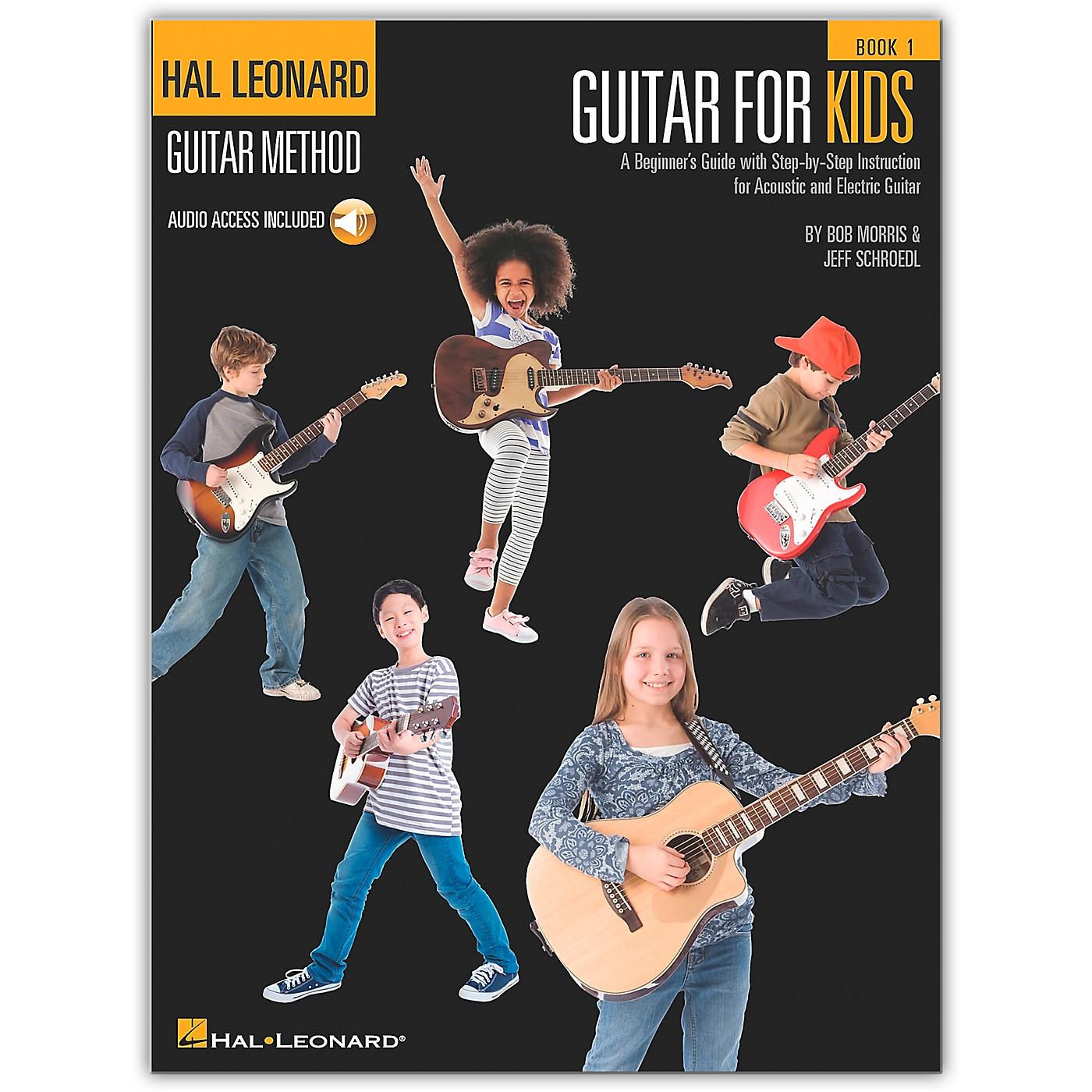 Hal Leonard Guitar for Kids - Hal Leonard Guitar Method (Book/Online Audio) thumbnail