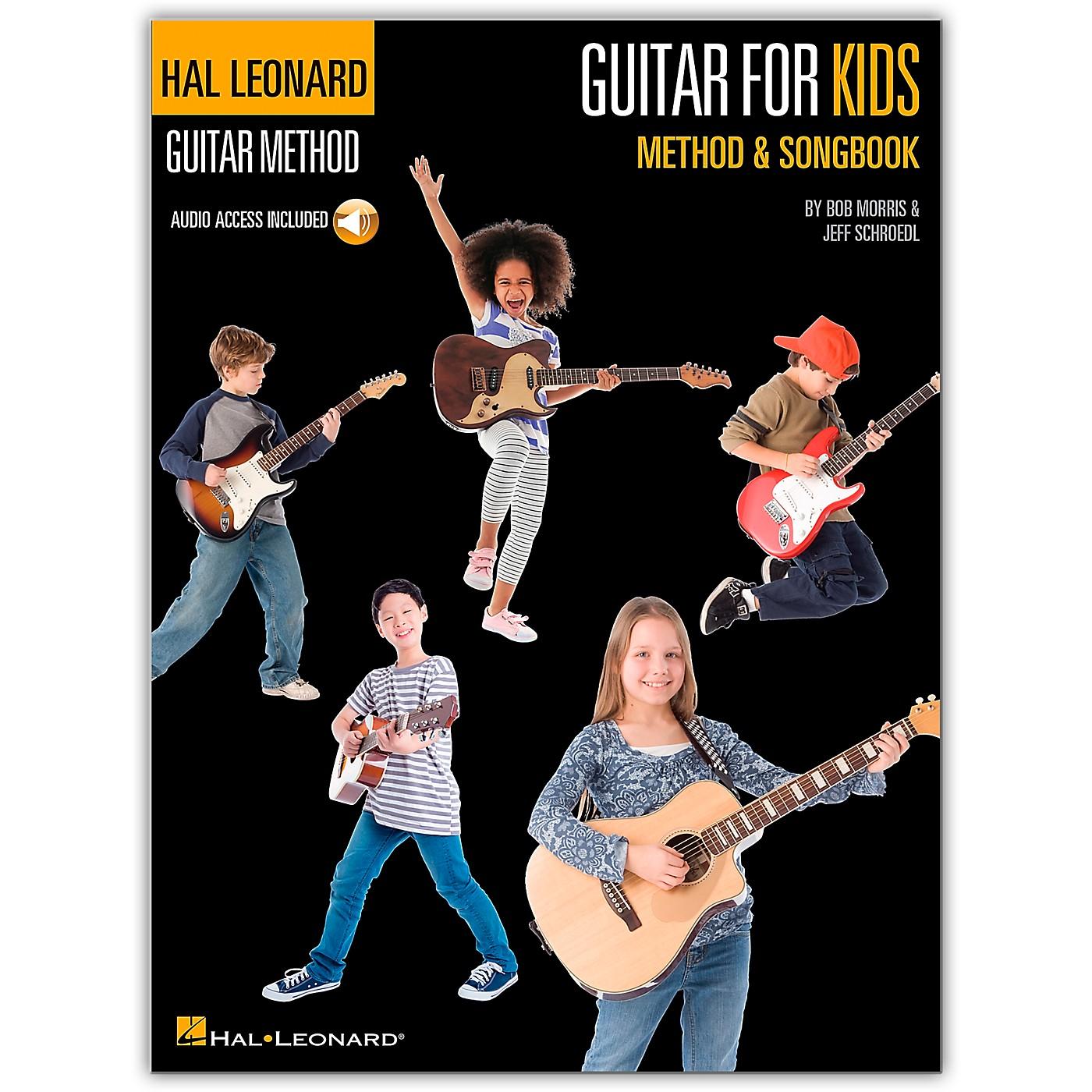 Hal Leonard Guitar for Kids Method & Songbook - Hal Leonard Guitar Method (Book/Online Audio) thumbnail