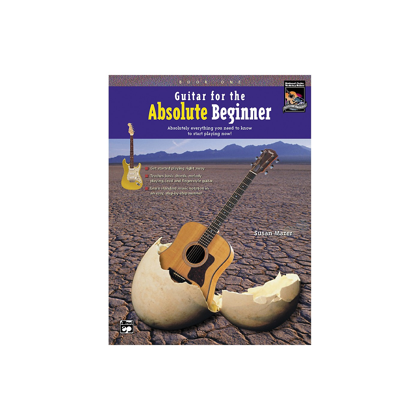Alfred Guitar for the Absolute Beginner 1 Book/CD thumbnail