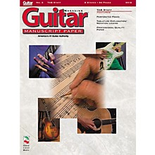 Cherry Lane Guitar(TM) Magazine Manuscript Paper - #3 Tab Staff - 9 inch. x 12 inch. Guitar Book Series