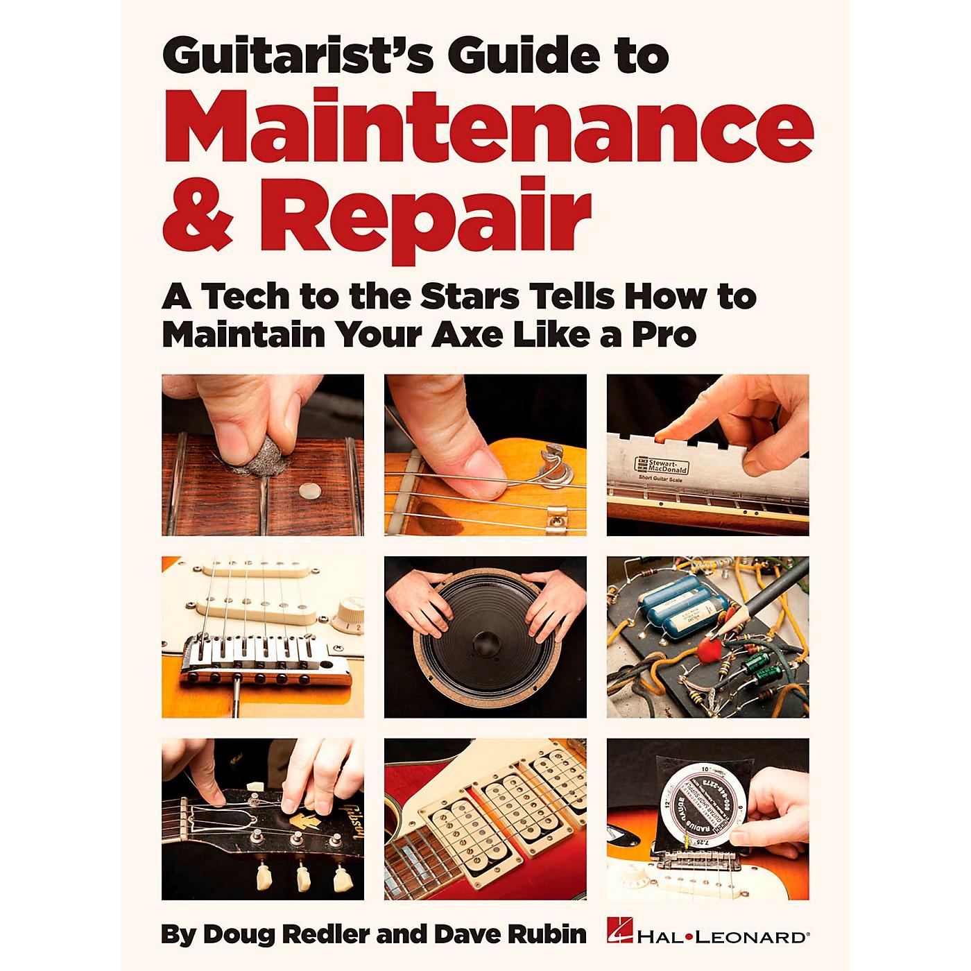 Hal Leonard Guitarist's Guide To Maintenance & Repair thumbnail