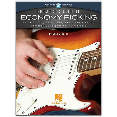 Hal Leonard Guitarist's Guide to Economy Picking (Book/Audio Online) thumbnail