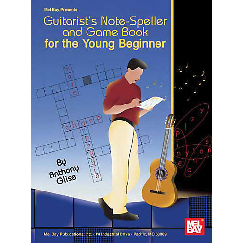 Mel Bay Guitarist's Note-Speller and Game Book for the Young Beginner (Book) thumbnail