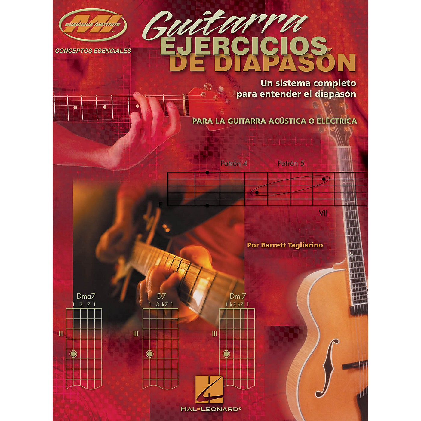 Musicians Institute Guitarra Ejercicios de Diapason Musicians Institute Press Series Softcover Written by Barrett Tagliarino thumbnail