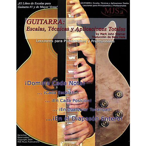 MJS Music Publications Guitarra: Escalas, Tecnicas y Aplicaciones Totales (Spanish Book) thumbnail