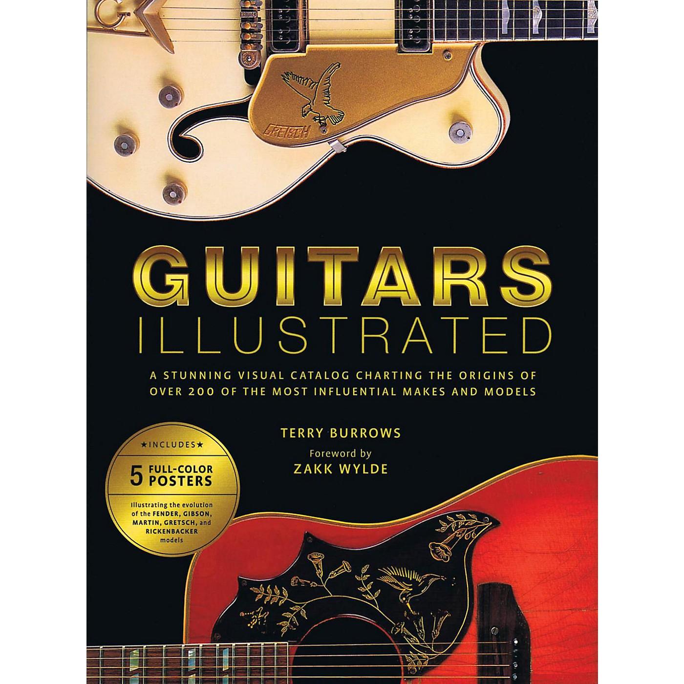 Hal Leonard Guitars Illustrated: A Stunning Visual Catalog Charting The Origins Of Over 200 Guitars thumbnail