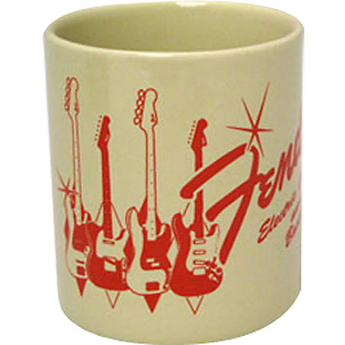 Fender Guitars and Basses Coffee Mug thumbnail