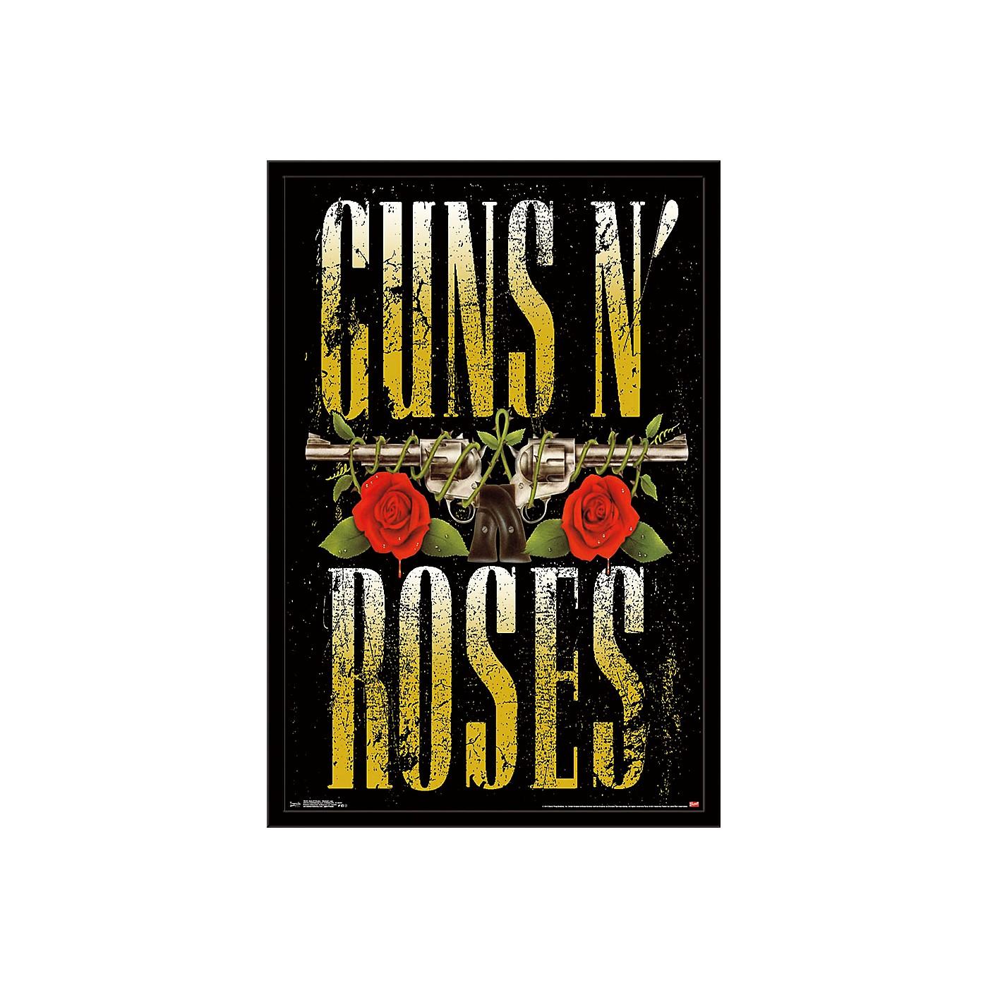 Trends International Guns N Roses - Stacked Logo Poster thumbnail