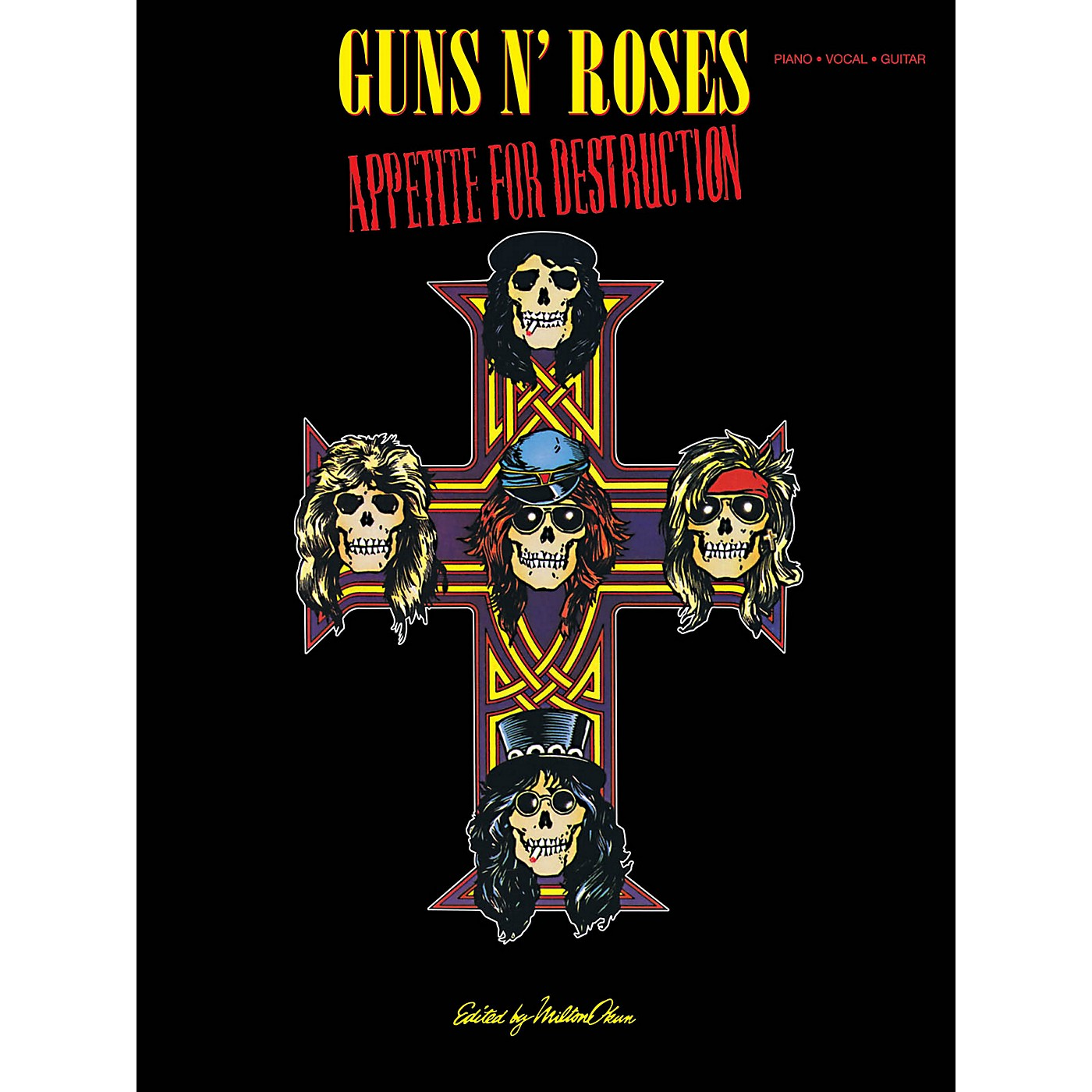 Cherry Lane Guns N Roses  Appetite For Destruction for Piano/Vocal/Guitar thumbnail
