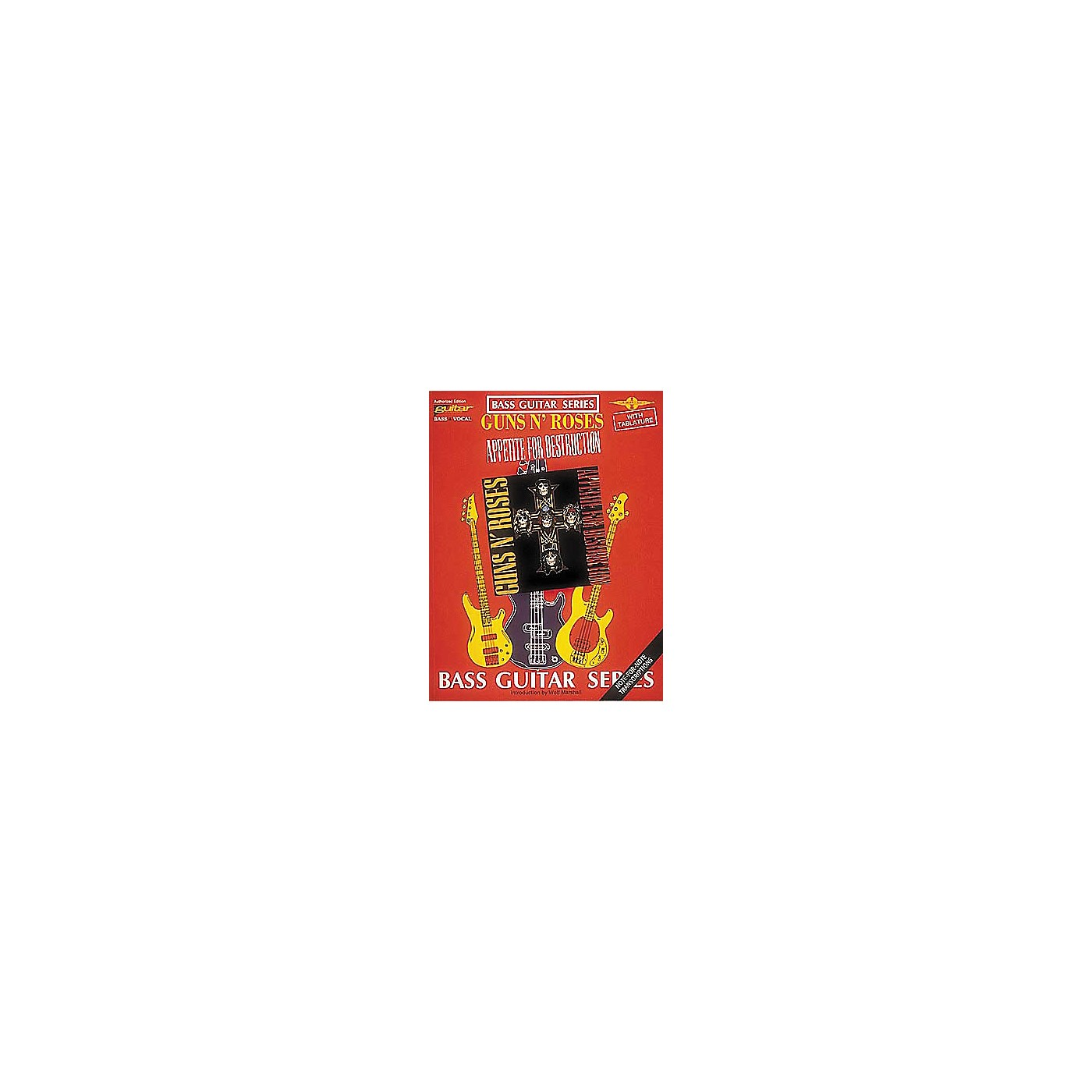 Cherry Lane Guns N' Roses Appetite for Destruction Bass Guitar Tab Songbook thumbnail