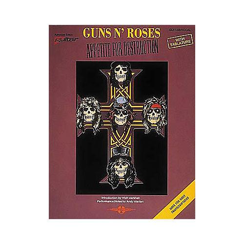 Cherry Lane Guns N' Roses Appetite for Destruction Guitar Tab Songbook-thumbnail