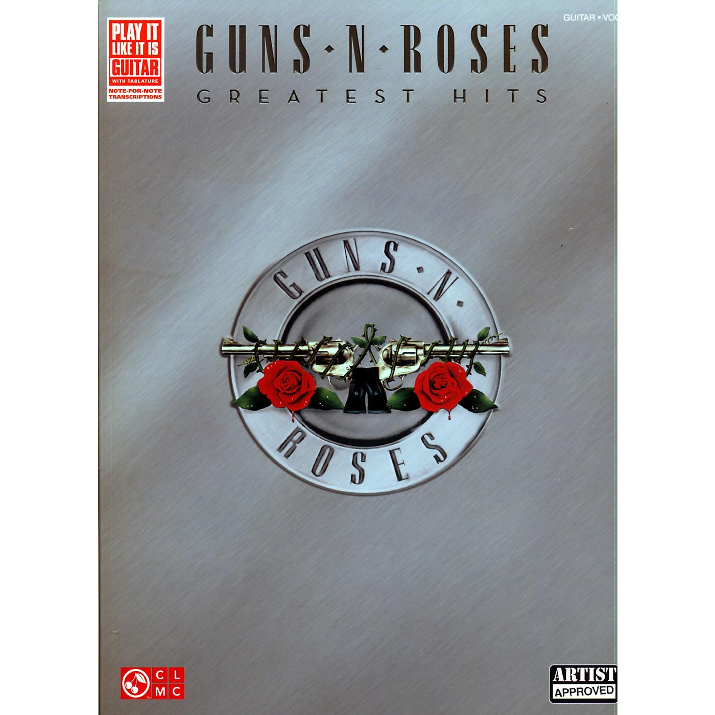 Cherry Lane Guns N' Roses Greatest Hits Guitar Tab Songbook thumbnail