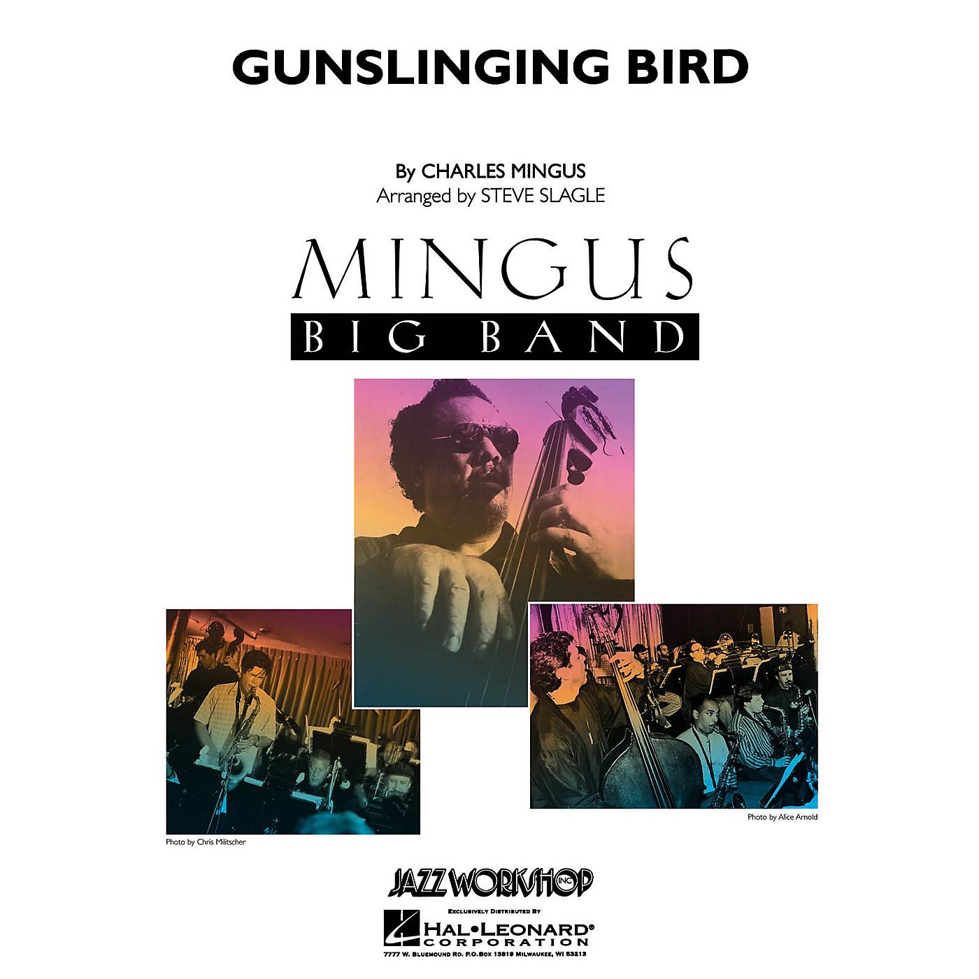 Hal Leonard Gunslinging Bird Jazz Band Level 5 Arranged by Steve Slagle thumbnail