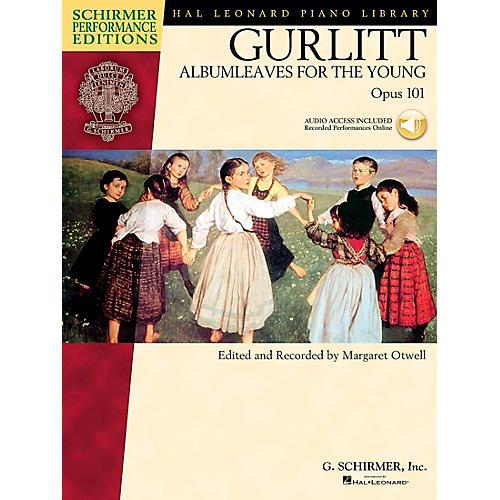 G. Schirmer Gurlitt: Albumleaves for The Young Op 101 Book/CD Schirmer Performance Edition By Gurlitt thumbnail