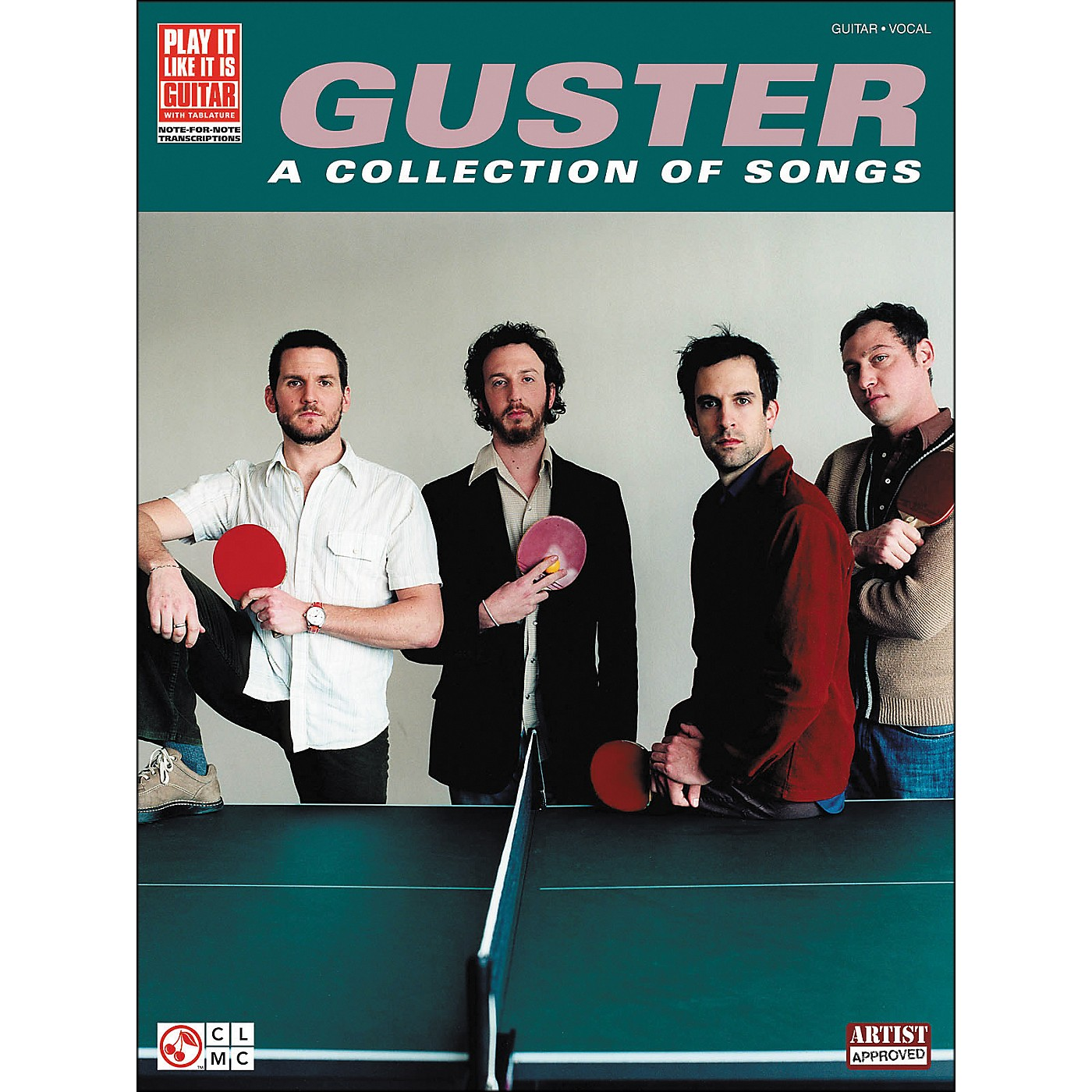 Cherry Lane Guster - A Collection Of Songs Tab Book thumbnail