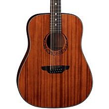 Luna Guitars Gypsy 12-String Dreadnought Mahogany Acoustic Guitar