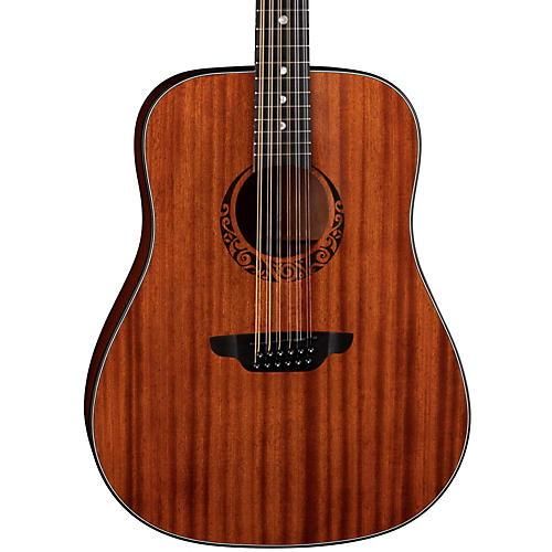 Luna Guitars Gypsy 12-String Dreadnought Mahogany Acoustic Guitar thumbnail