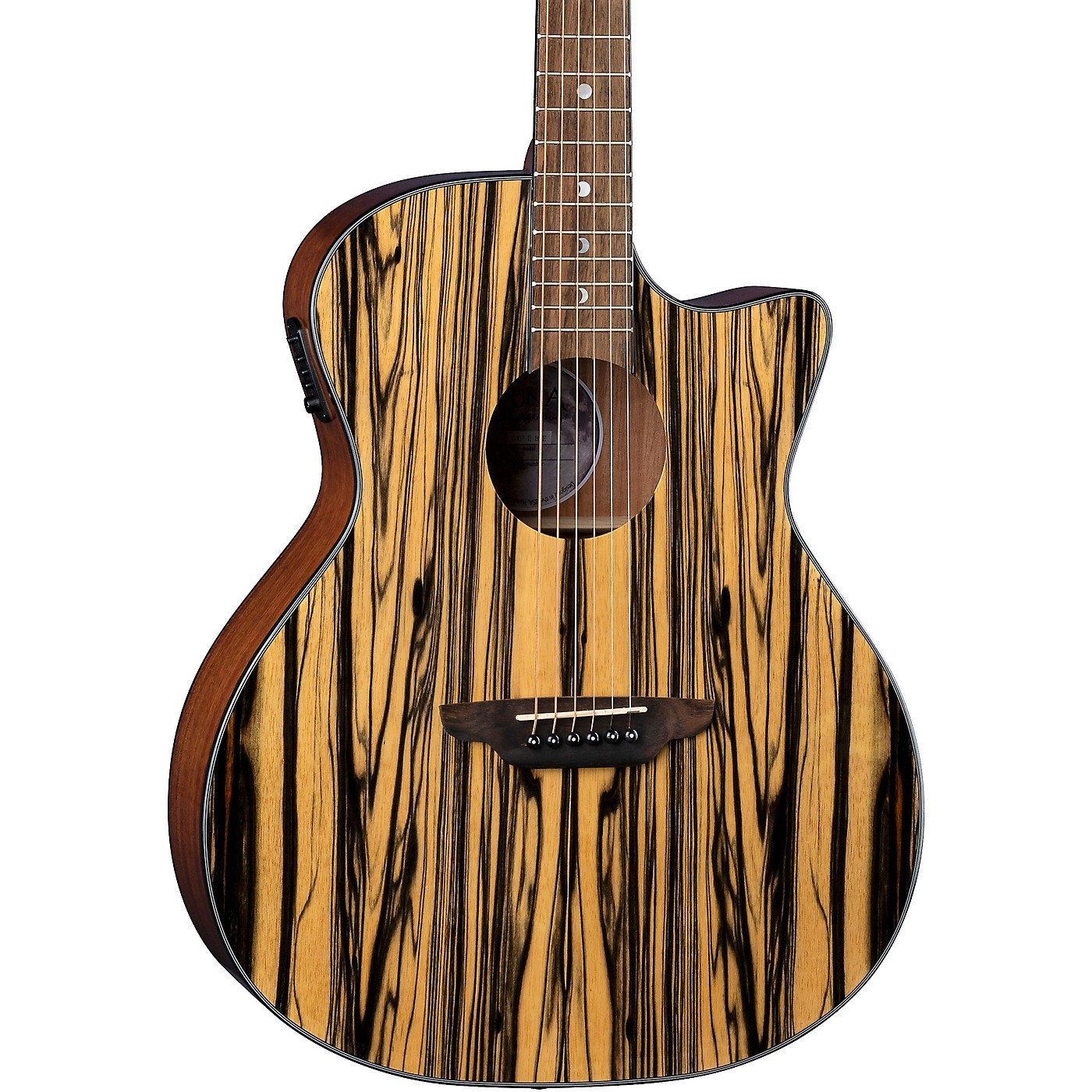 Luna Guitars Gypsy Acoustic-Electric Guitar thumbnail