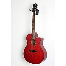 Luna Guitars Gypsy Grand Concert Ash Acoustic-Electric Guitar