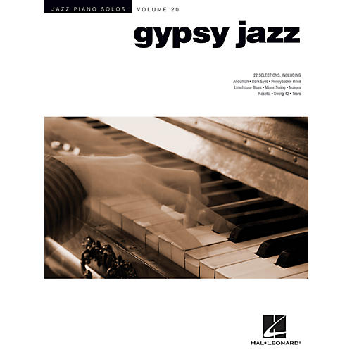 Hal Leonard Gypsy Jazz - Jazz Piano Solos Series Volume 20 thumbnail