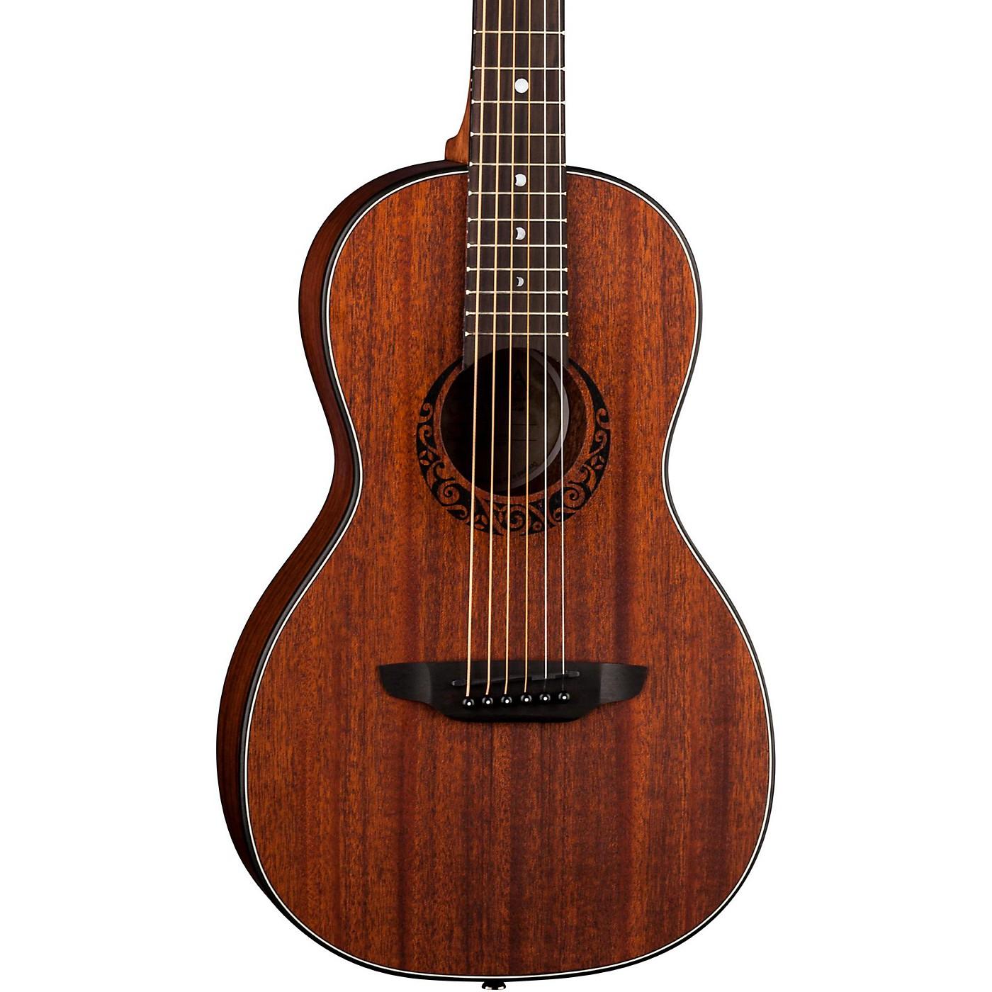 Luna Guitars Gypsy Parlor Mahogany Acoustic Guitar thumbnail