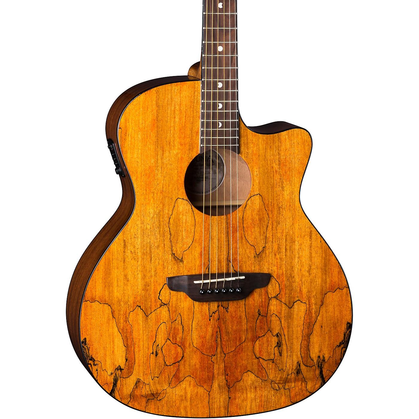 Luna Guitars Gypsy Spalt Grand Auditorium Acoustic-Electric Guitar thumbnail