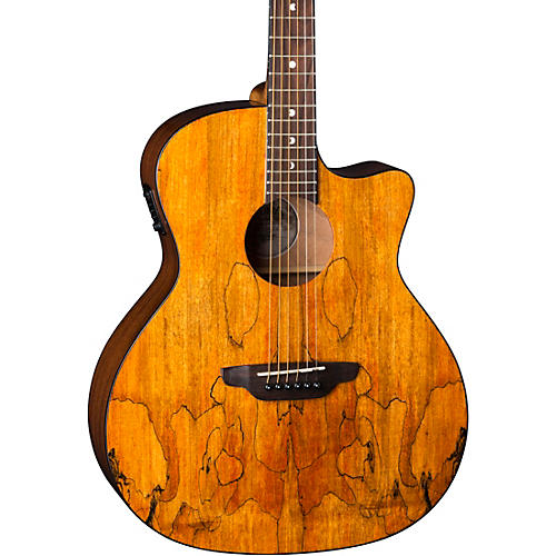 Luna Guitars Gypsy Spalt Grand Auditorium Acoustic-Electric Guitar thumbnail