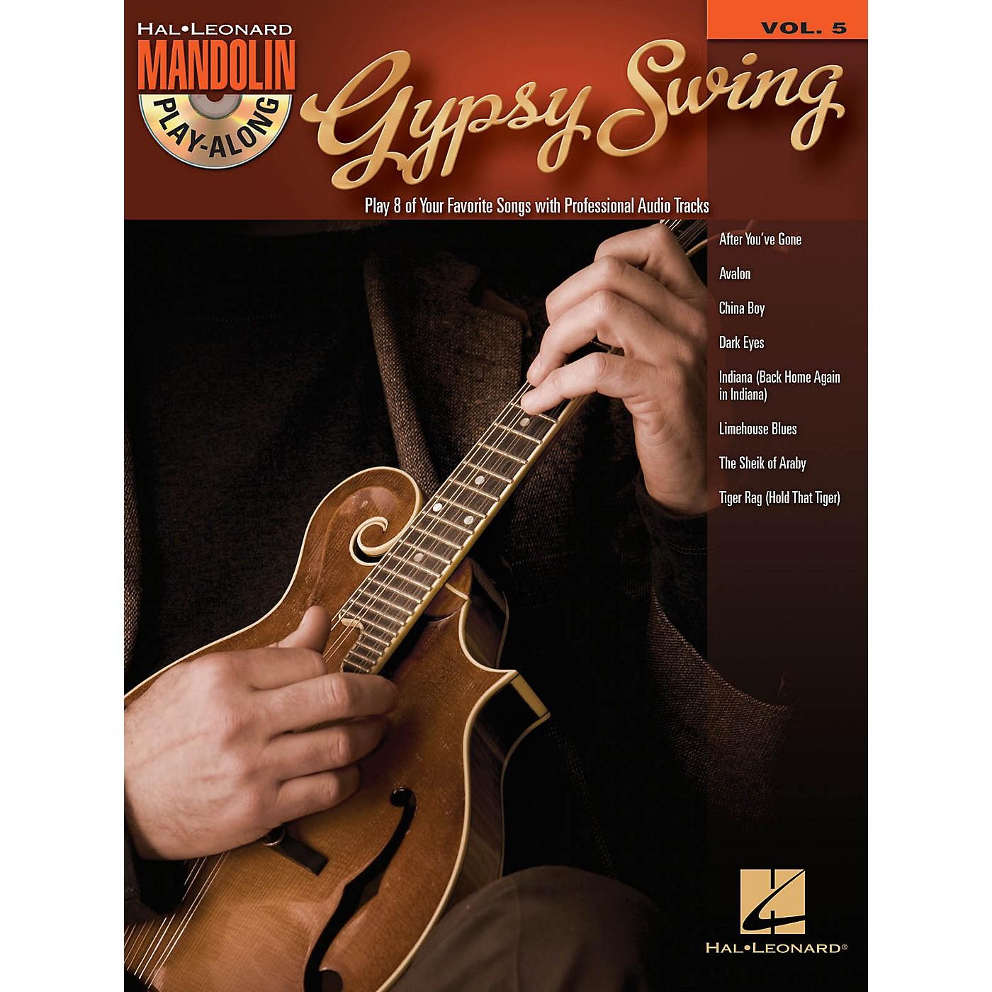 Hal Leonard Gypsy Swing (Mandolin Play-Along Volume 5) Mandolin Play-Along Series Softcover with CD thumbnail