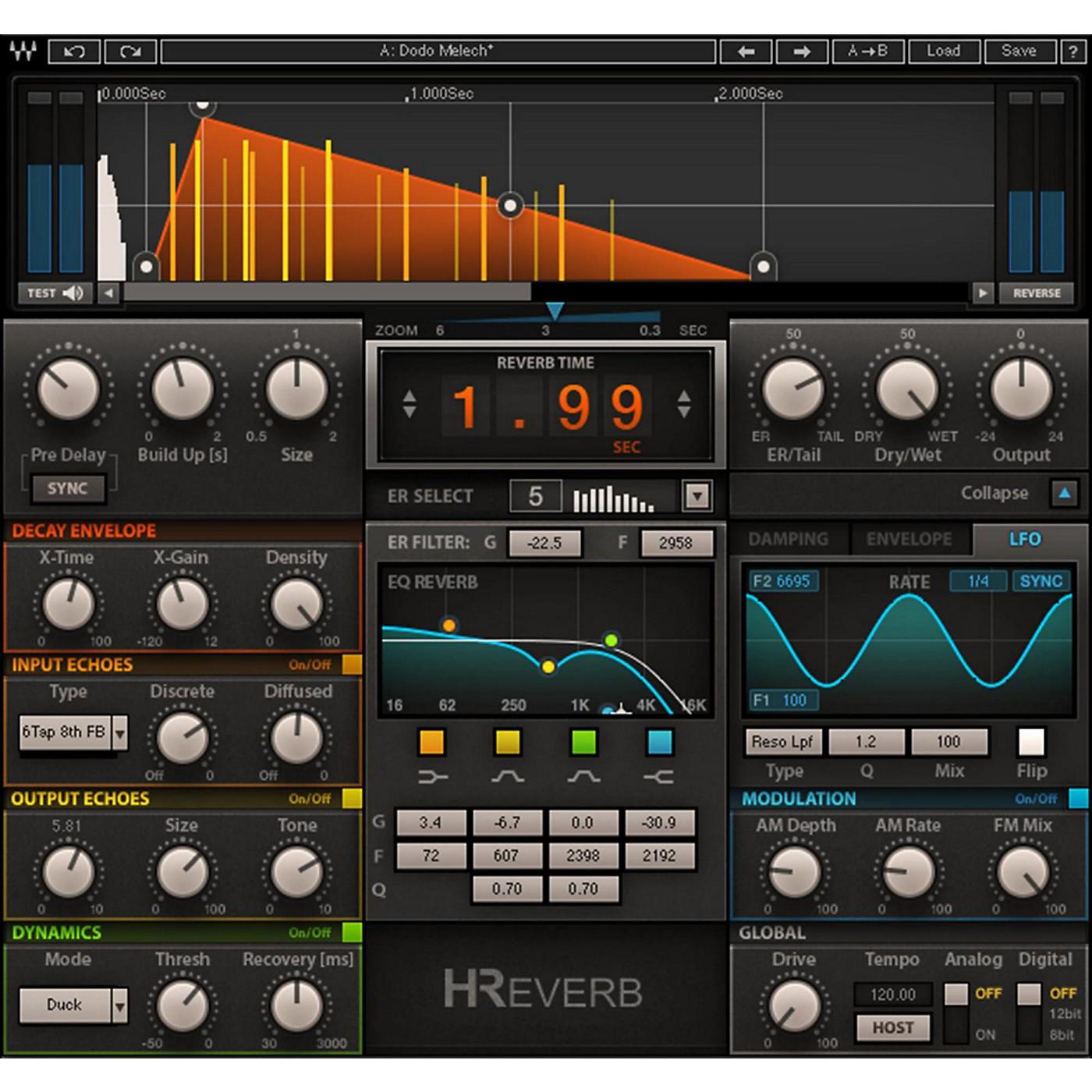 Waves H Reverb Hybrid Reverb Software Download thumbnail