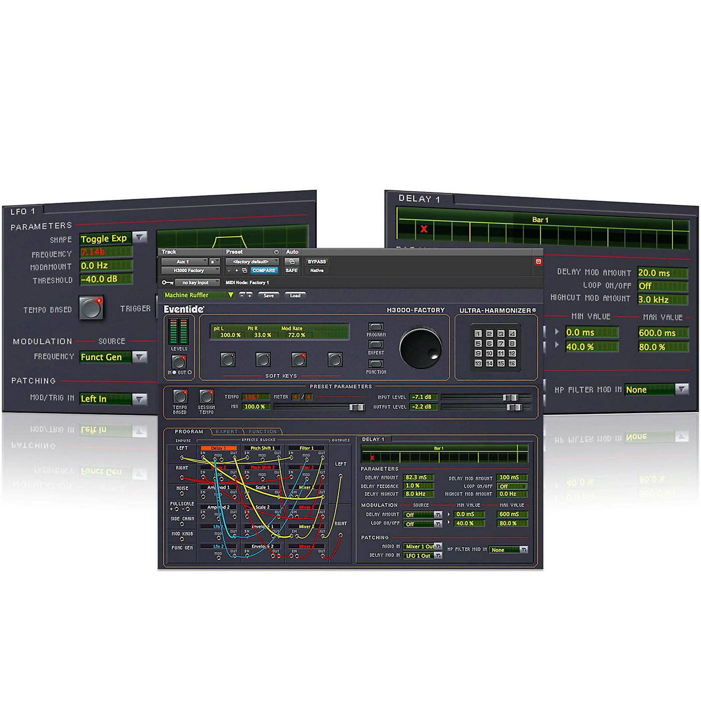 Eventide H3000 Factory Native AAX32/AU/VST Software Download thumbnail
