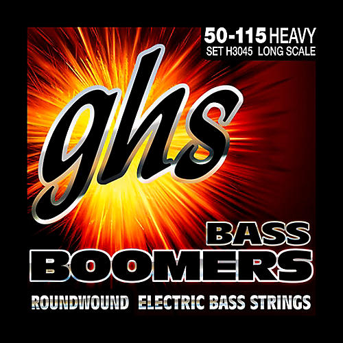 GHS H3045 Heavy Gauge Bass Boomers Bass Strings thumbnail