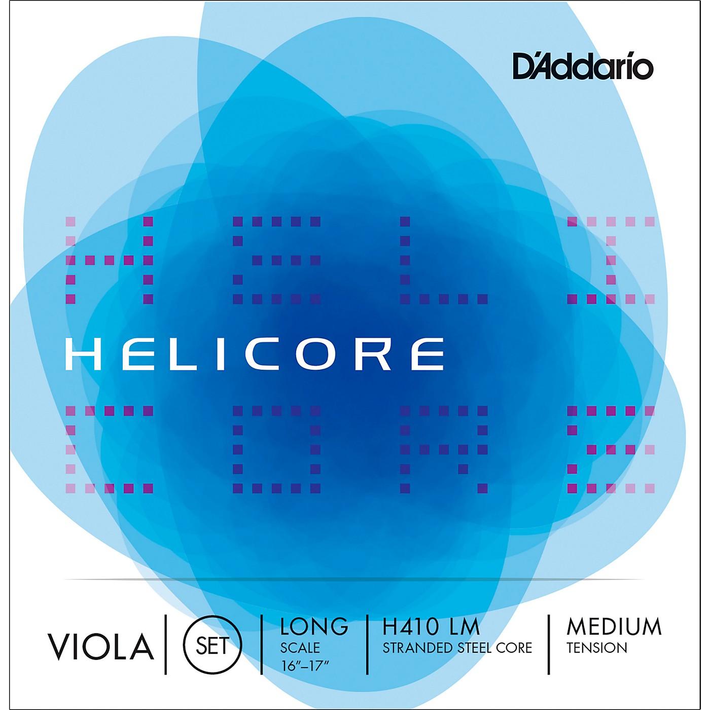 D'Addario H410 Helicore Viola String Set thumbnail