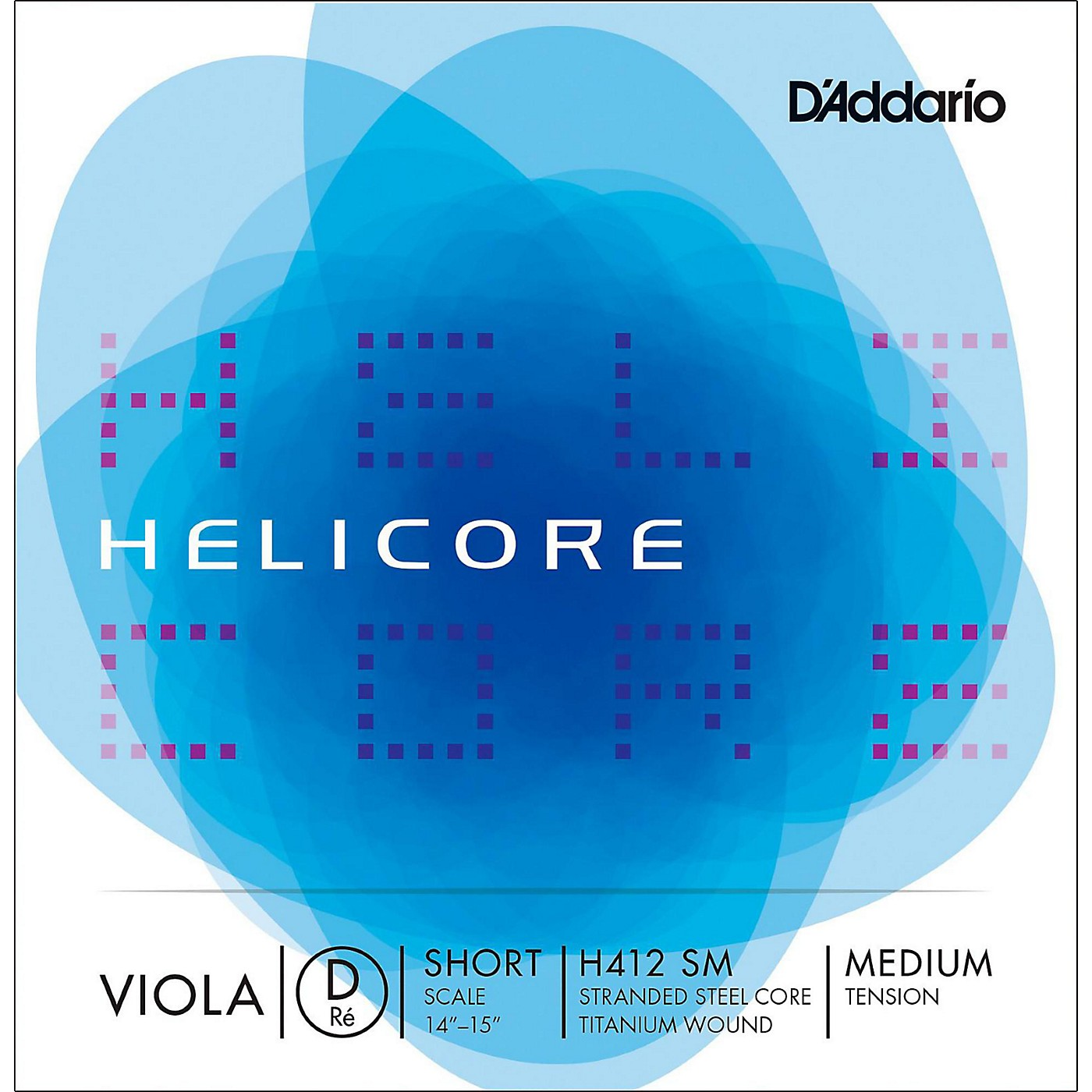 D'Addario H412 Helicore Long Scale Viola D String thumbnail