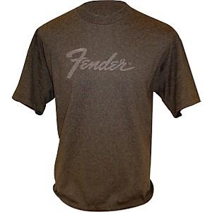 Fender Amp Logo T-Shirt Charcoal Large