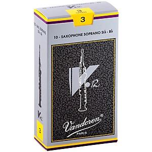 Vandoren V12 Series Soprano Saxophone Reeds Strength 3